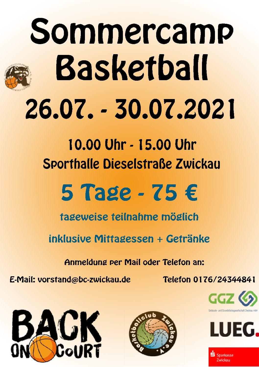 Sommercamp Basketball